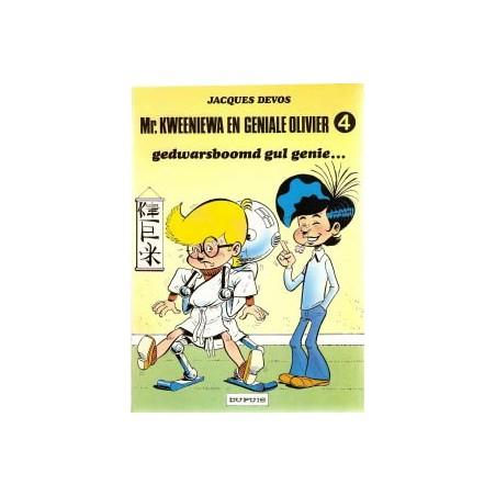 Geniale Olivier 04 Gedwarsboomd gul genie... herdruk 1983