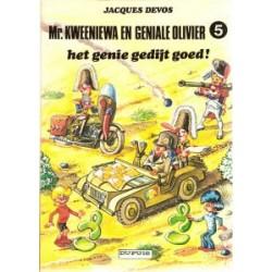 Geniale Olivier 05<br>Het genie gedijt goed<br>herdruk 1984
