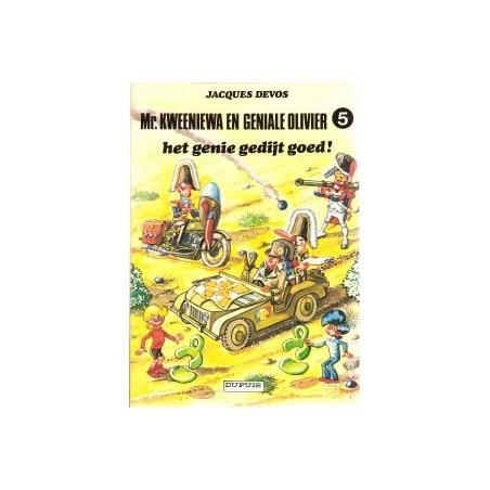 Geniale Olivier 05 Het genie gedijt goed herdruk 1984