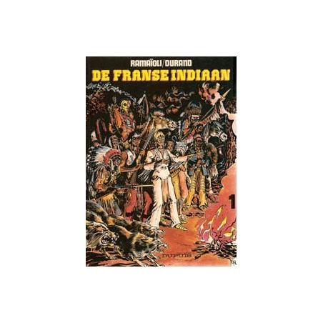 Franse Indiaan set deel 1 & 2 1e drukken 1980-1981