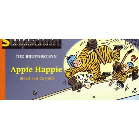 Appie Happie  Stripparel 03 Bloed aan de puck