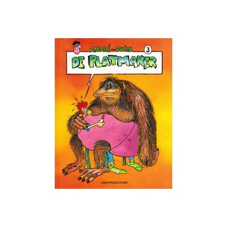 Andre van Duin 03 De platmaker 1e druk 1988