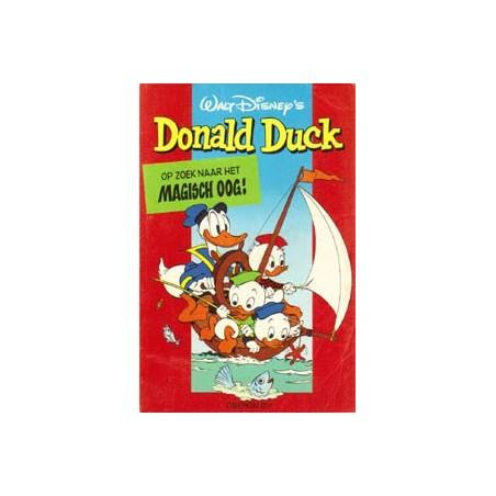 Donald Duck pocket 2e reeks 01% Op zoek naar magisch oog 1e druk 1977