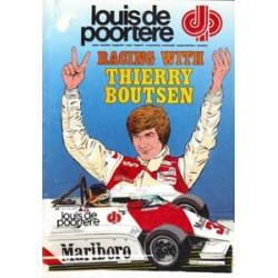 Thierry Boutsen<br>Racen met T.B.<br>reclame album 1982