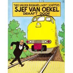 Sjef van Oekel 01<br>Draaft door<br>herdruk 1990