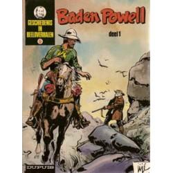 Geschiedenis in beeldverhalen<br>Baden Powell set<br>deel 1 & 2