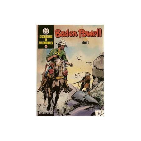 Geschiedenis in beeldverhalen Baden Powell set deel 1 & 2