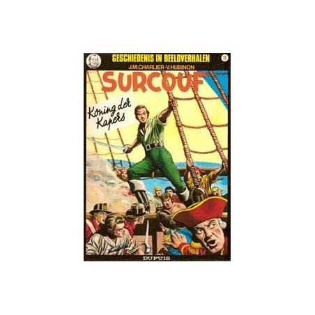Surcouf  set Geschiedenis in beeldverhalen 3 delen