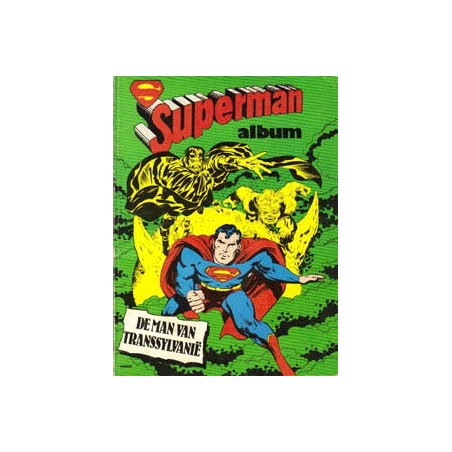 Superman album set I deel 1 t/m 4 1e drukken 1978-1980