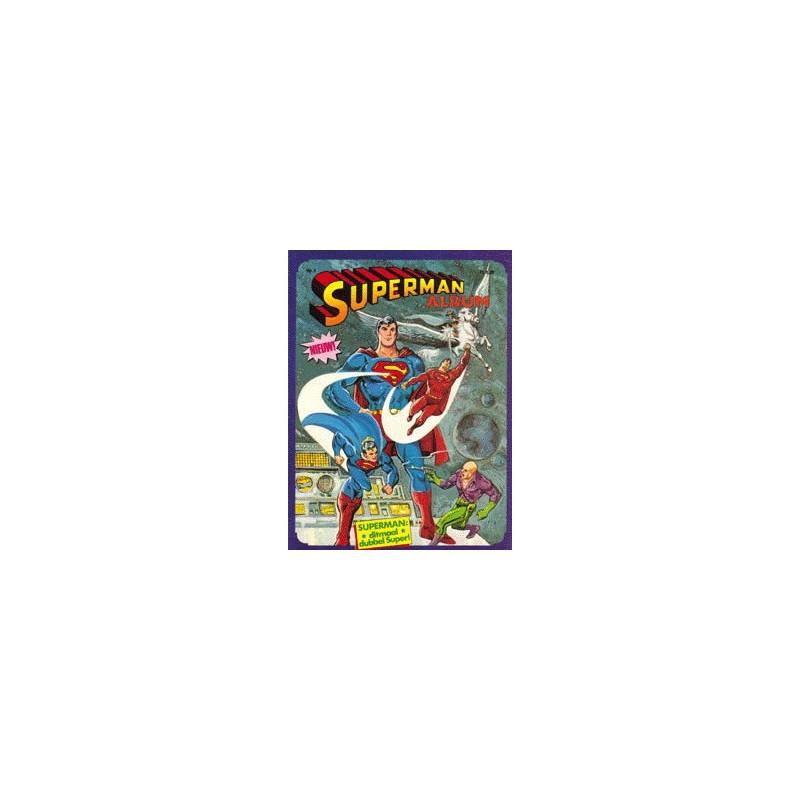 Superman album set II deel 1 t/m 8 1e drukken 1982-1983