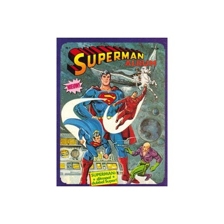Superman album set II deel 1 t/m 8 1e drukken 1982-1983