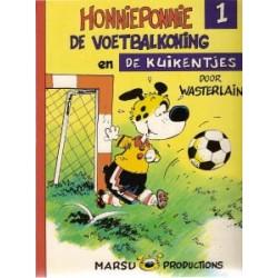 Honnieponnie 01<br>De voetbalkoning en de kuikentjes