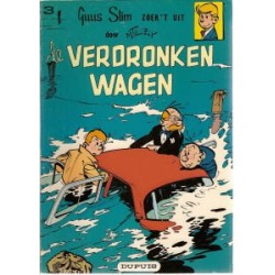 Guus Slim 03<br>De verdronken wagen<br>herdruk 1977