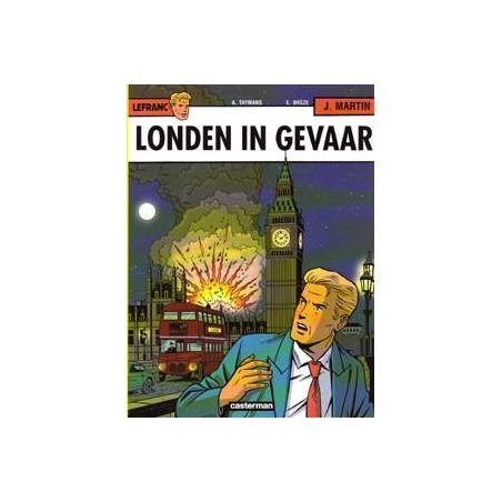 Lefranc  19 Londen in gevaar