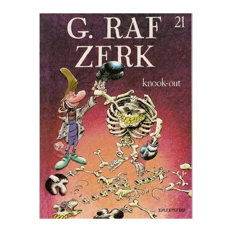 G. Raf Zerk 21 Knook-out 1e druk 2003