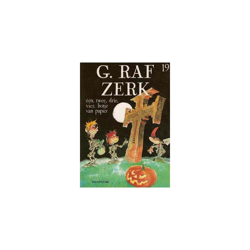 G. Raf Zerk 19 - Een, twee, drie, vier, botje van papier