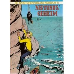Jan Kordaat 08<br>Neptunus' geheim<br>herdruk 1983