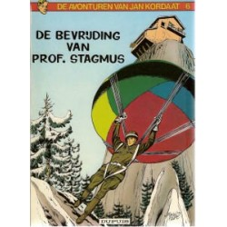 Jan Kordaat 06<br>Bevrijding van Prof. Stagmus<br>herdruk 1982