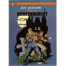 Jan Kordaat 03<br>Het geheim van de Donkerburcht<br>herdruk 1981