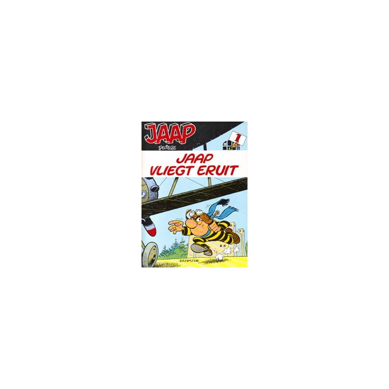 Jaap 01 Jaap vliegt eruit herdruk 1988