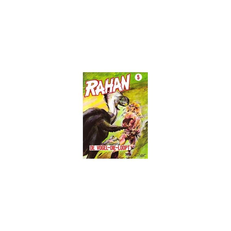 Rahan P 05 De vogel-die-loopt 1e druk 1981