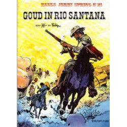 Jerry Spring 21 Goud in Rio Santana 1e druk 1987