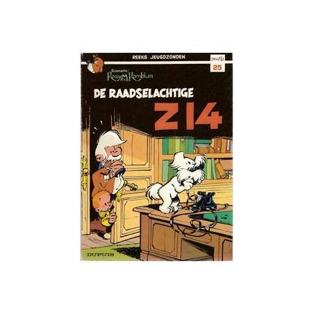Jeugdzonden 25 Attila Raadselachtige Z14 herdruk 1987
