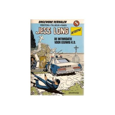 Jess Long 08 Intimidatie & Voor eeuwig K.O. 1e druk 1983
