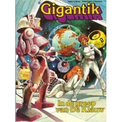 Gigantik 01 De ruimtereuzen 1e druk 1979