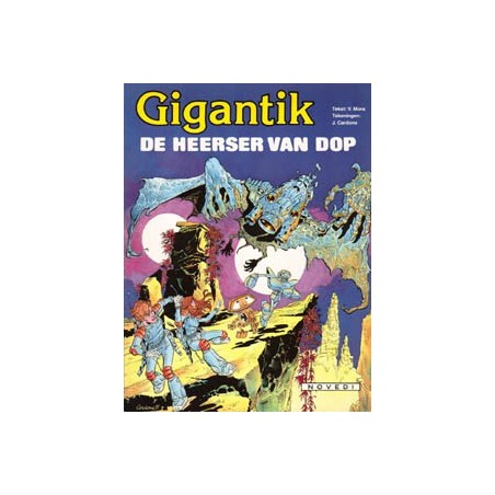 Gigantik 05 De heerser van Dop 1e druk 1982