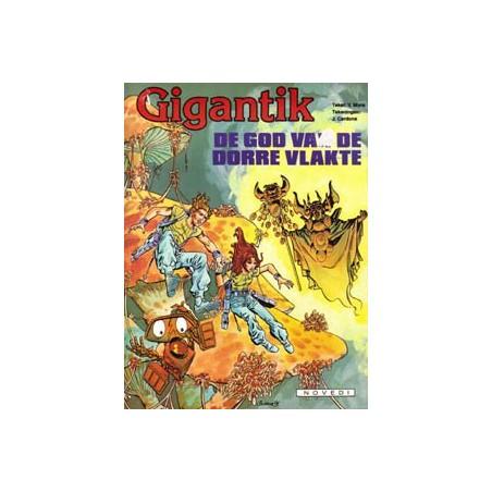Gigantik 07 De god van de dorre vlakte 1e druk 1984