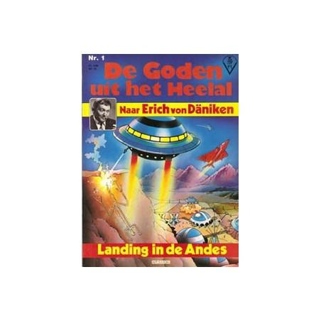 Goden uit het heelal 01 Landing in de Andes 1e druk 1979