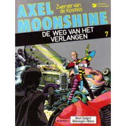 Axel Moonshine 07D* De weg van het verlangen 1e druk 1986