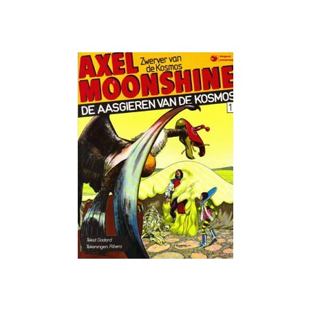 Axel Moonshine 01D* Aasgieren van de kosmos 1e druk 1982