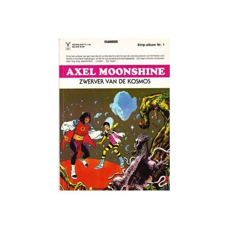 Axel Moonshine 01 - Zwerver van de kosmos 1e druk 1979