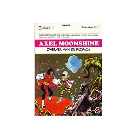 Axel Moonshine  set Deel 1 t/m 9 1e drukken 1979-1986