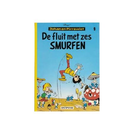 Johan en Pirrewiet 09 De fluit met de zes Smurfen herdruk