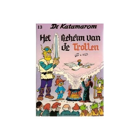 Katamarom 13 Het geheim van de Trollen 1e druk 1984