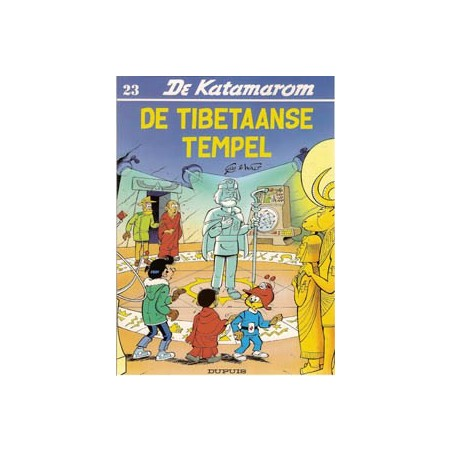 Katamarom 23 De Tibetaanse tempel 1e druk 1992