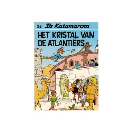 Katamarom 24 Het kristal van de Atlantiërs 1e druk 1993