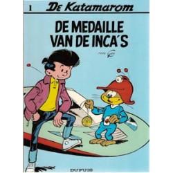 Katamarom 01<br>De medaille van de Inca's<br>herdruk 1989