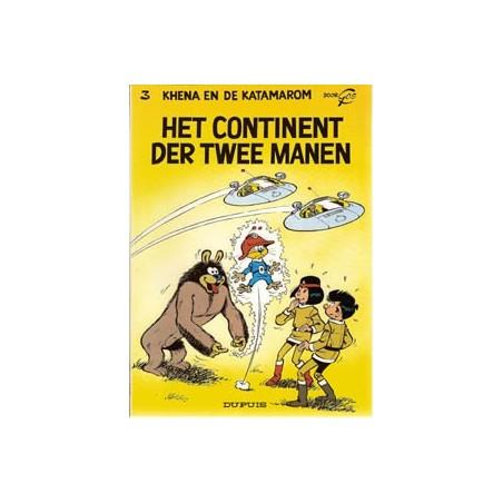 Katamarom 03 Het continent der twee manen herdruk 1991