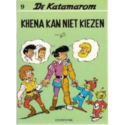 Katamarom 09<br>Khena kan niet kiezen<br>herdruk 1989