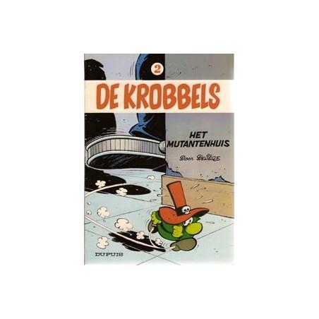 Krobbels 02 Het mutantenhuis 1e druk 1979