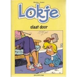 Lokje 01<br>Slaat door<br>1e druk 1989