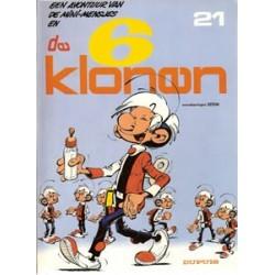 Minimensjes 21 De 6 klonen 1e druk 1987
