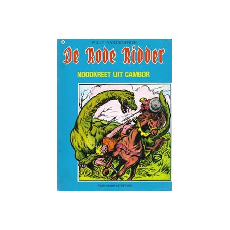 Rode Ridder Zwart-wit 039 Noodkreet uit Cambor herdruk