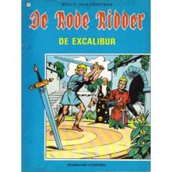 Rode Ridder Zwart-wit 051 De excalibur herdruk