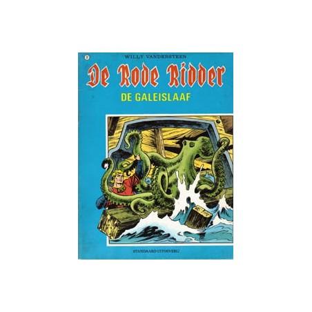 Rode Ridder Zwart-wit 077 De galeislaaf 1e druk 1977
