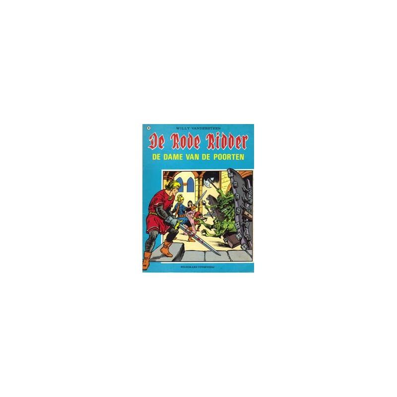 Rode Ridder Zwart-wit 096 Dame van de poorten 1e druk 1981